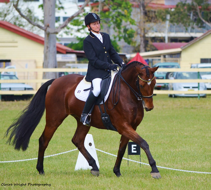 CC in competition at Tweed, 19.05.2013, Photo Claire Wright