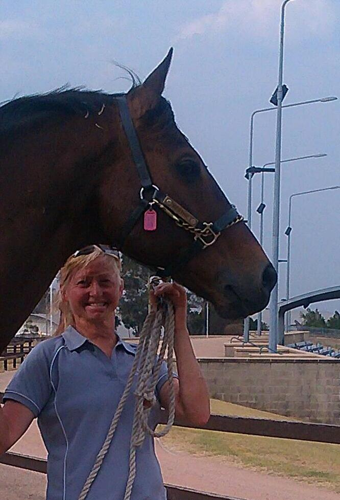 The last photo of A'Seduction and I at Sydney International Equestrian Centre, Horsley Park.